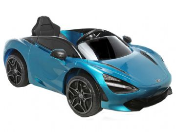McLaren 720S Blue Licenced 12v Electric Ride on Car with Parental Control